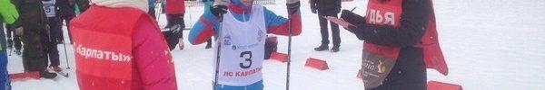 Окружной этап областных соревнований  по лыжным гонкам «Пионерская правда».