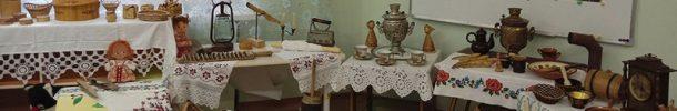 Контактная  выставка «Быт Вятской избы»  в МАДОУ детском саду «Надежда»